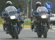 Carabinieri motociclisti, stazione de Monopoli-Polignano