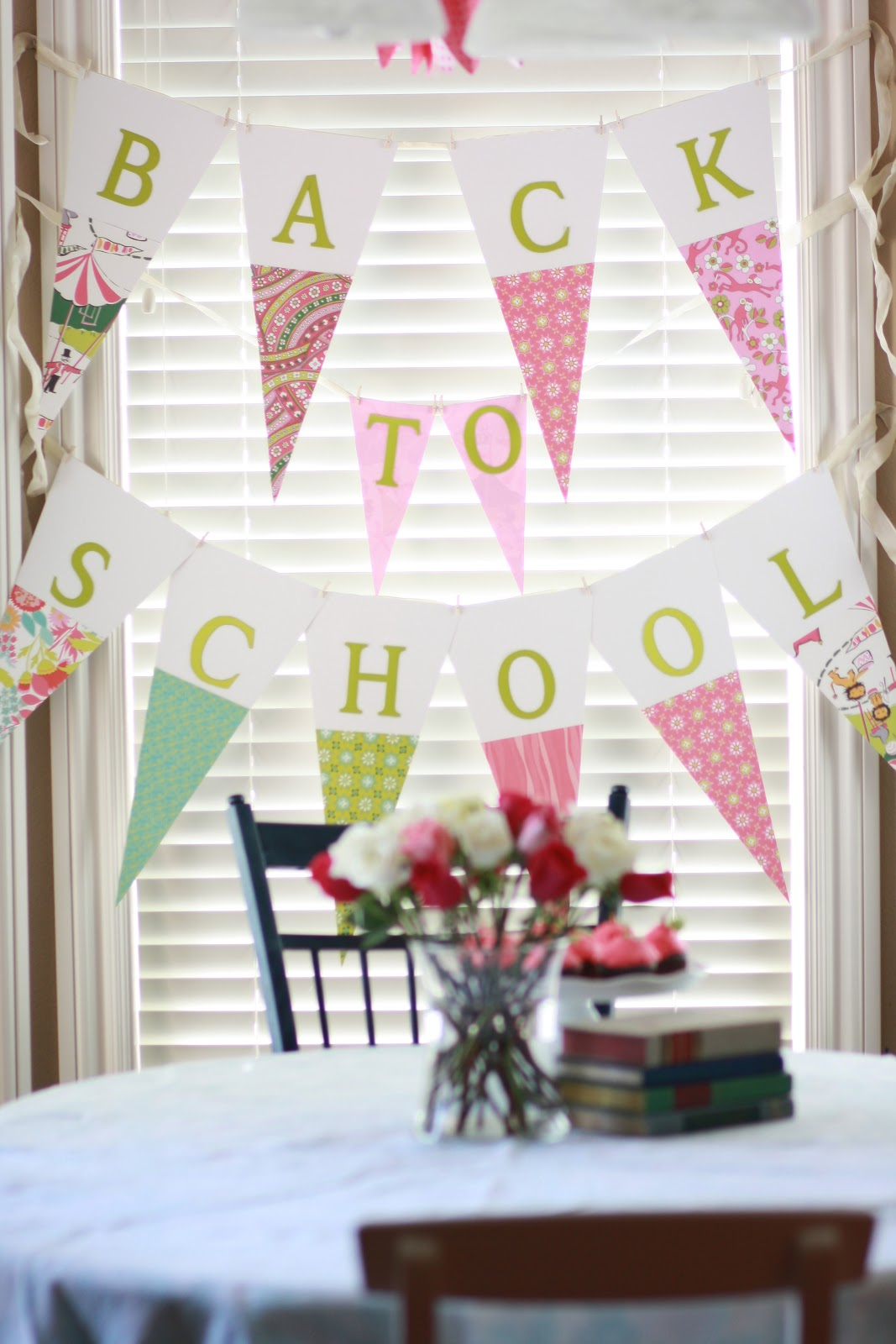 Back to School Party Ideas - At The Picket Fence