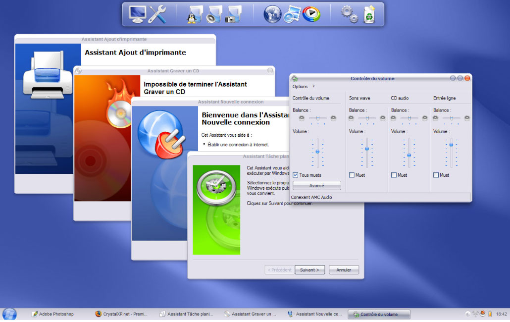 crystal clear software for windows xp
