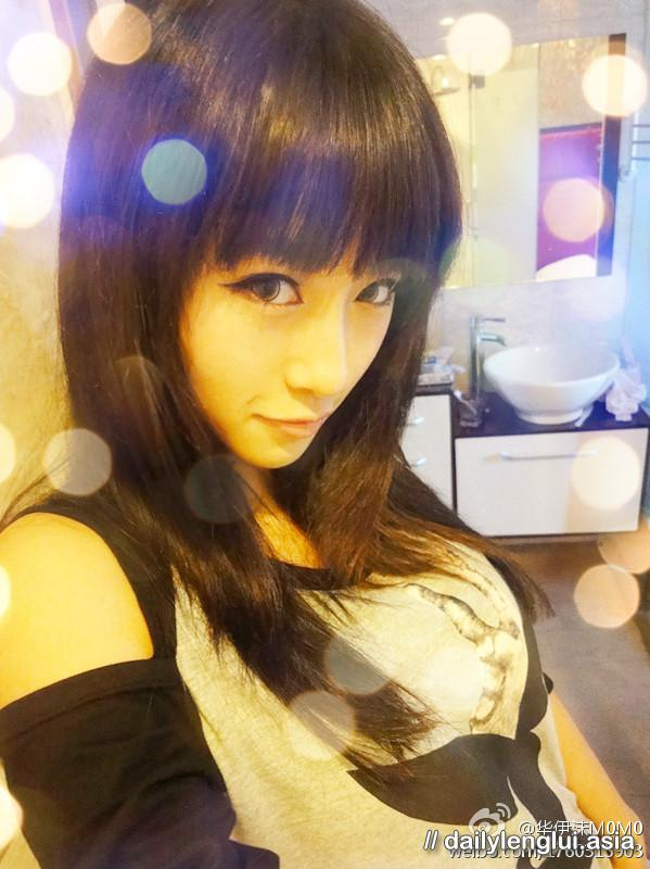 foto bugil artis cantik hua yi mo yang menggoda