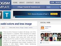 Template Blog Profesional dan SEO Friendly 2013