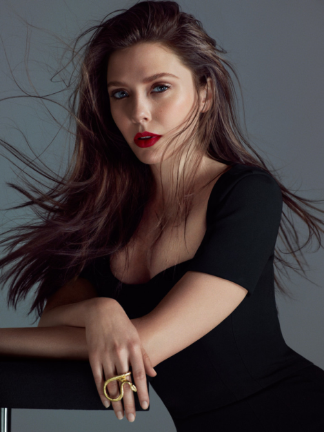 Elizabeth Olsen by Hunter & Gatti for Flaunt Magazine
