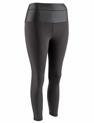 Domyos mallas legging largo efecto vientre plano Decathlon