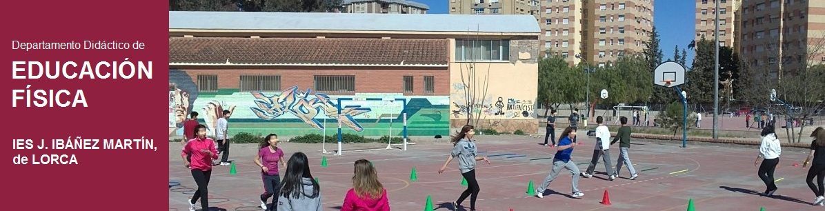 Educación Física en el IES J. Ibáñez Martín, de Lorca