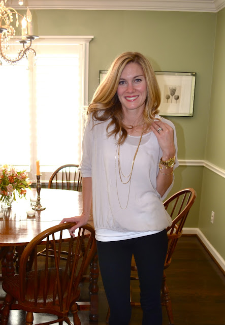 c. style blog, c style blog, james perse, BP. Multichain necklace nordstrom, james perse blouse nordstrom, BP. gold chain necklace, carly lee, carley sundstrom lee, houston, tx