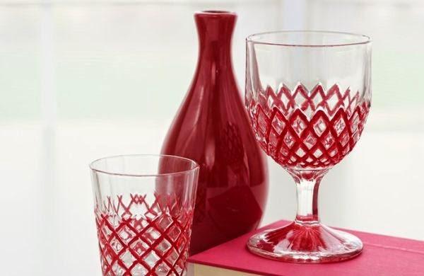 Como fazer decoração em copos passo a passo