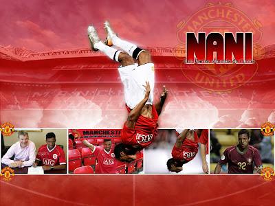 Nani manchester united Goal Celebration
