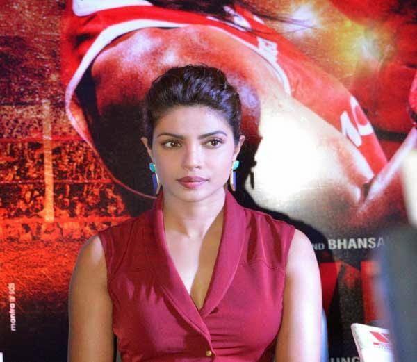 Priyanka Chopra promotes Mary Kom at Lucknow