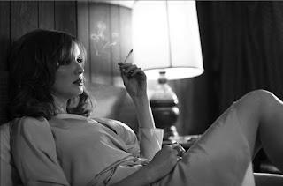 Christina Hendricks Smoking Cigarettes