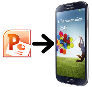 Play PowerPoint on Galaxy S4