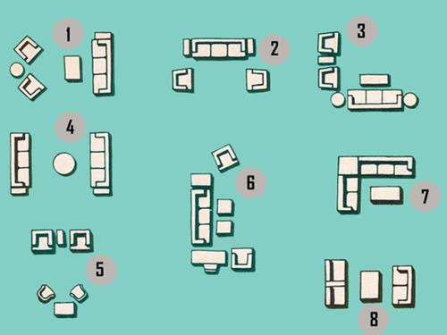 Hướng dẫn bố trí tivi cho phòng khách có Sofa 9