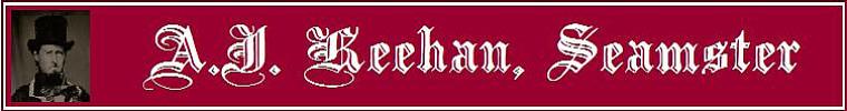 A.J. Keehan, Seamster