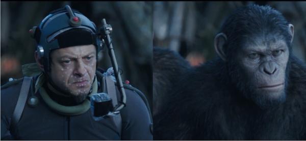 Featurette de Planeta dos Macacos: O Confronto mostra cenas da captura de movimento