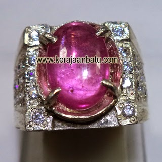 Natural Pink Ruby Corundum