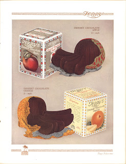 Advertising Image of Chocolate Apple and Orange, 1936