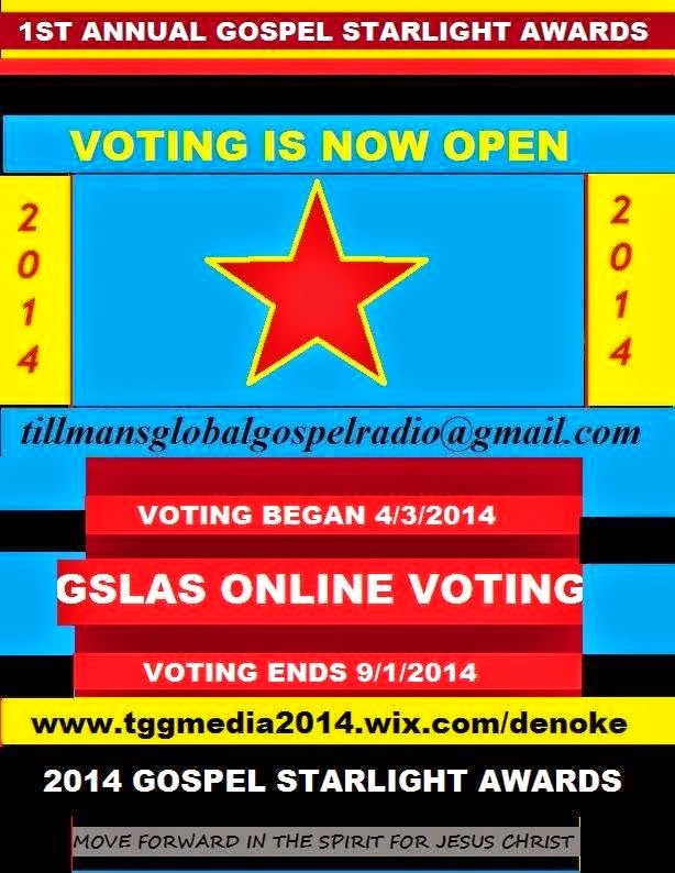VOTE FOR US TODAY!!!