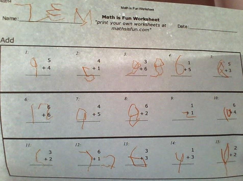 Math is Fun Printables | The Zen Spot