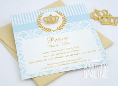 convite principe realeza provençal