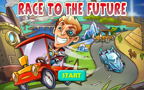 Race To The Future Apk v1.3 Mod [Unlimited Coins]