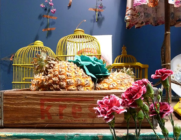 Happiness is... Anthology Pop Up Store by artist Terry Angelos in Durban