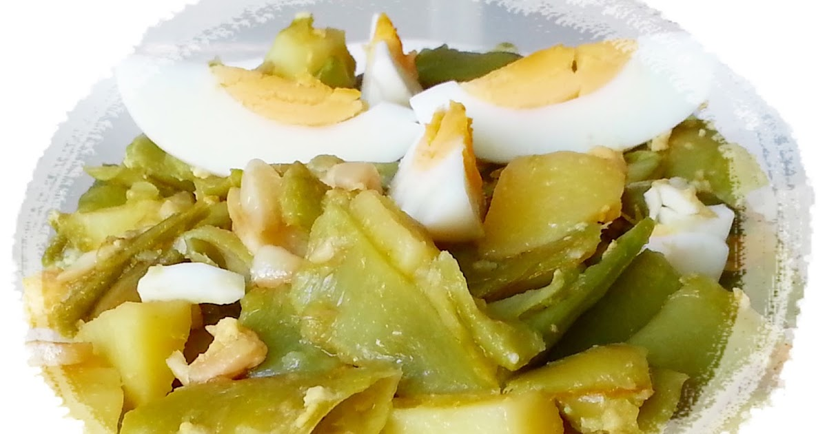 Recetas y a cocinar se ha dicho judias verdes con patatas for Cocinar judias verdes de bote