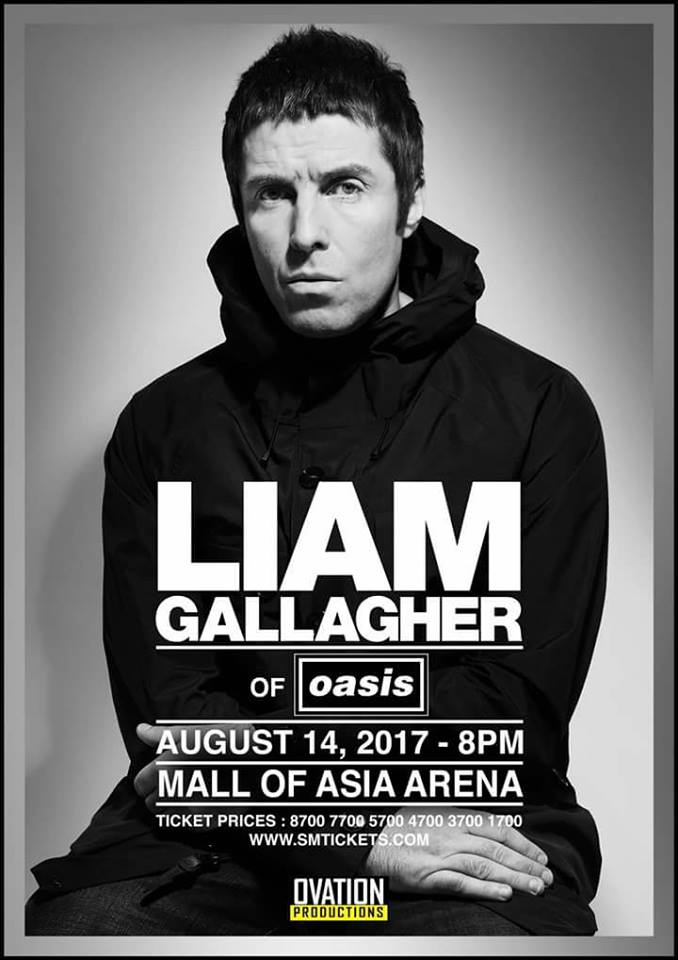 Liam Gallagher Live in Manila