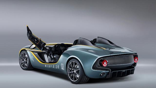 Aston Martin's radical CC100 Speedster Concept door