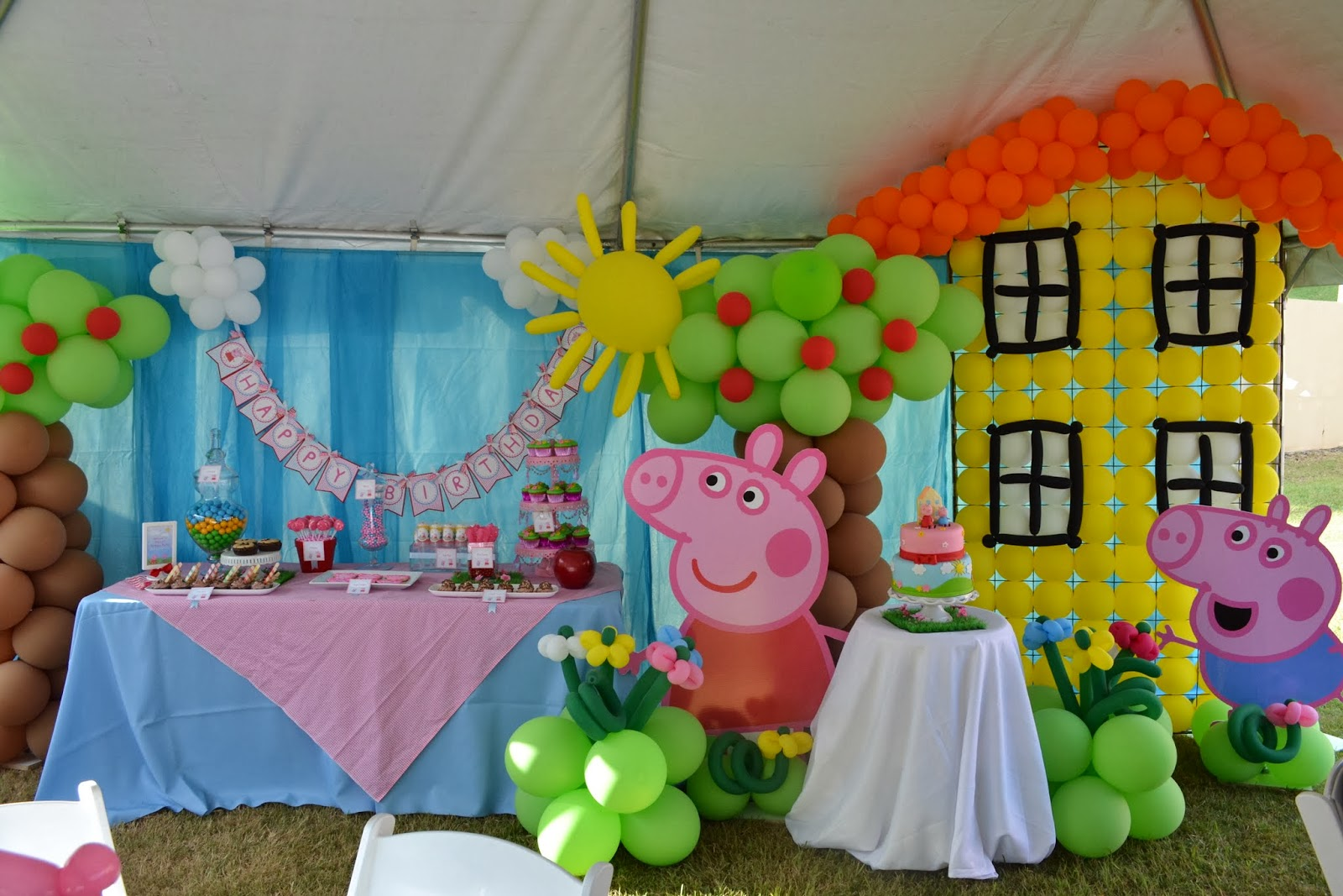 partylicious events pr peppa pig party