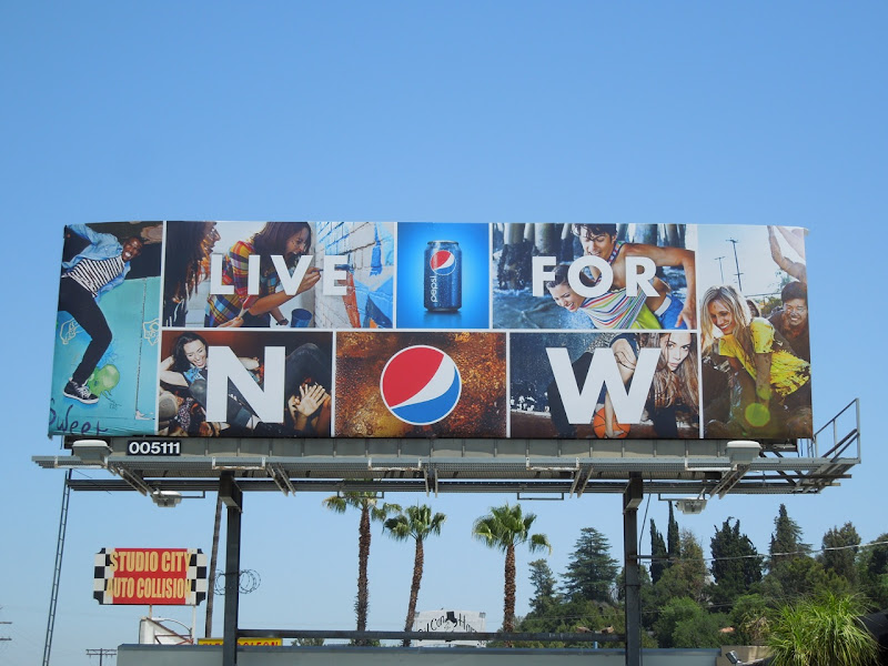 Pepsi billboard 2012