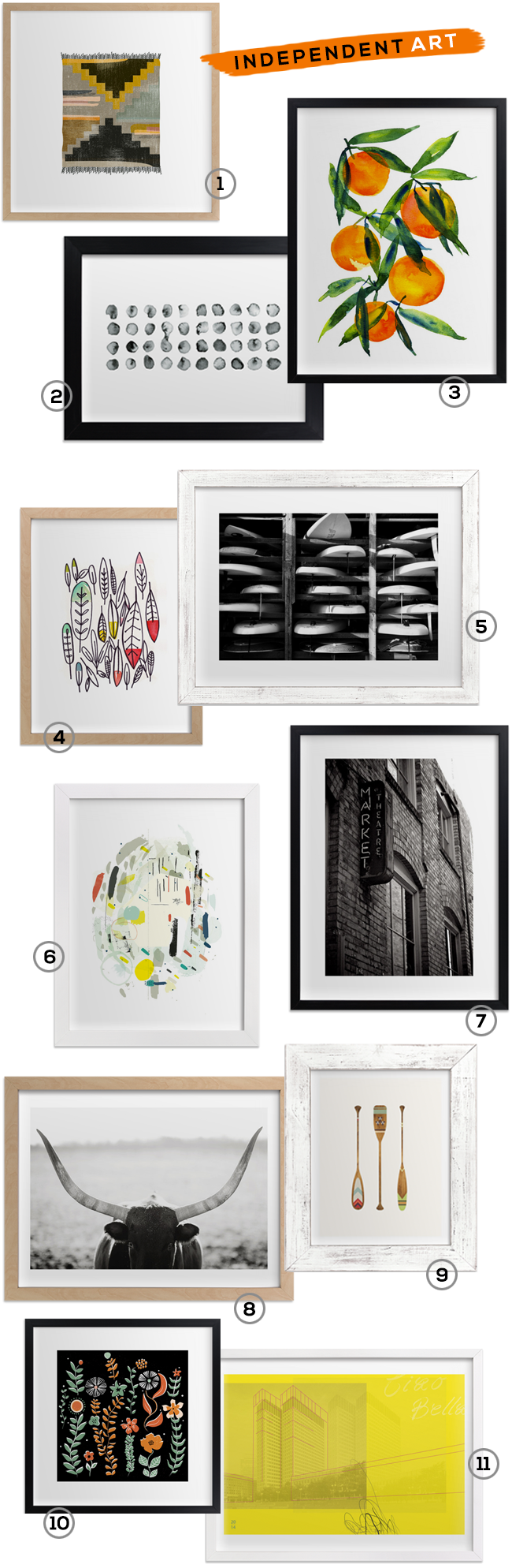 Independent Art Forever + a $  500 Giveaway from Minted and Bubby & Bean!