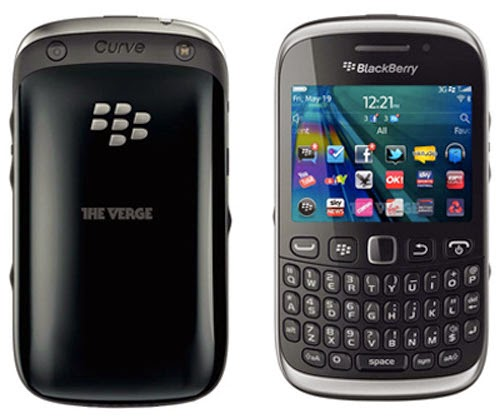 Spesifikasi Handphone Blackberry Curve 9320 - Black