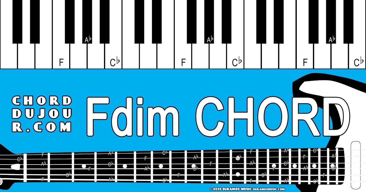 Chord du Jour: Dictionary: Fdim Chord