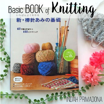 basic book of knitting, buku dasar knitting, belajar knitting, review buku knitting, knitting untuk pemula