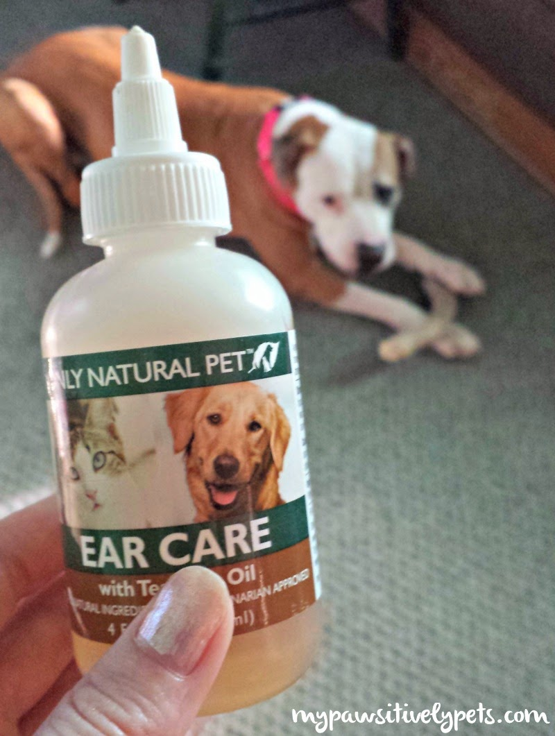 Only Natural Pet Ear Care With Tea Tree Oil