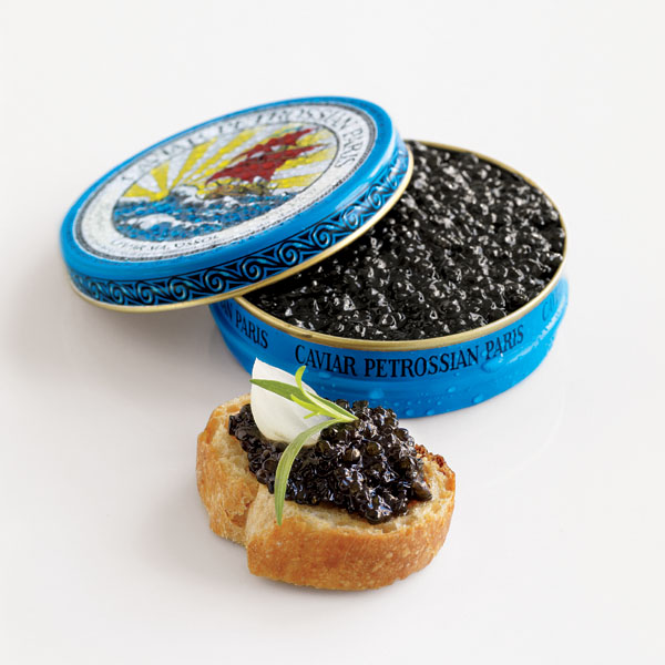 Drinking and eating rich food caviar a most for Caviar comes from what fish