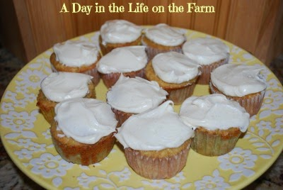 A Day in the Life on the Farm: Spiced Parsnip Cupcakes for ...