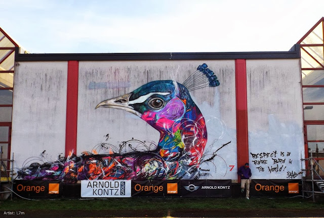 Street Art By L7M For Goodbye Monopole 2 Festival In Luxembourg City, Luxembourg. 4
