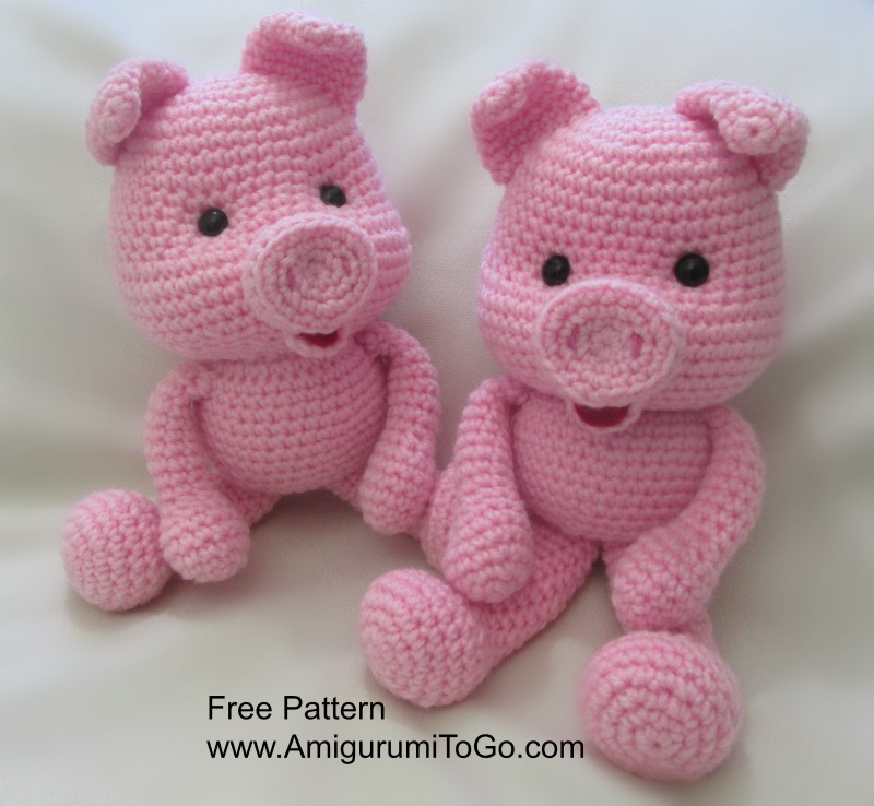 Amigurumi I To Go : Crochet Along Pig ~ Amigurumi To Go
