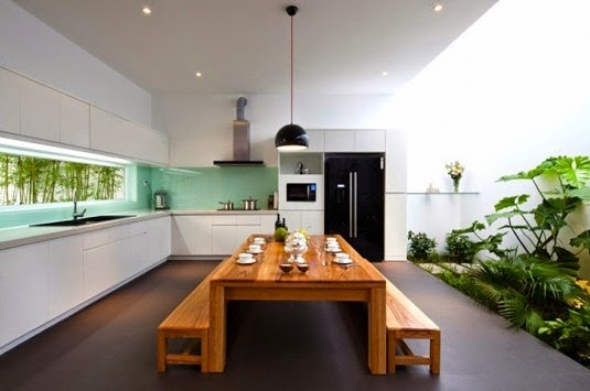 Garden or Farm Inside Your House Design
