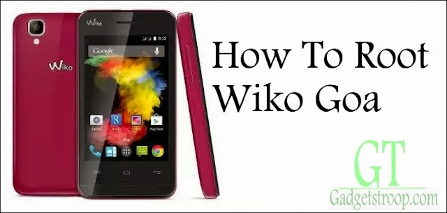 How to root wiko goa android smartphone