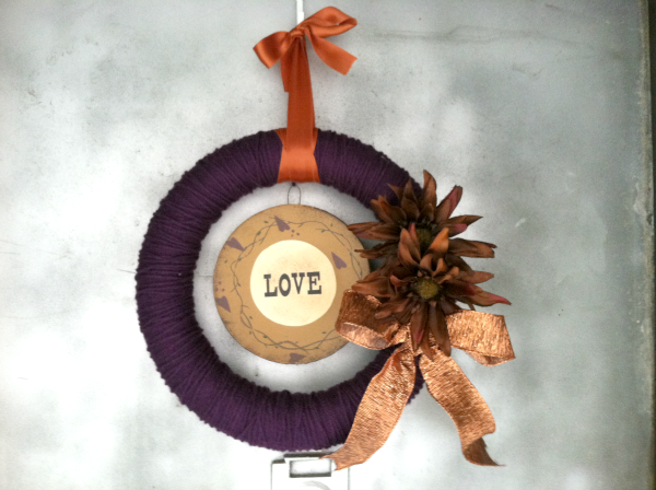 fall crafting wreaths