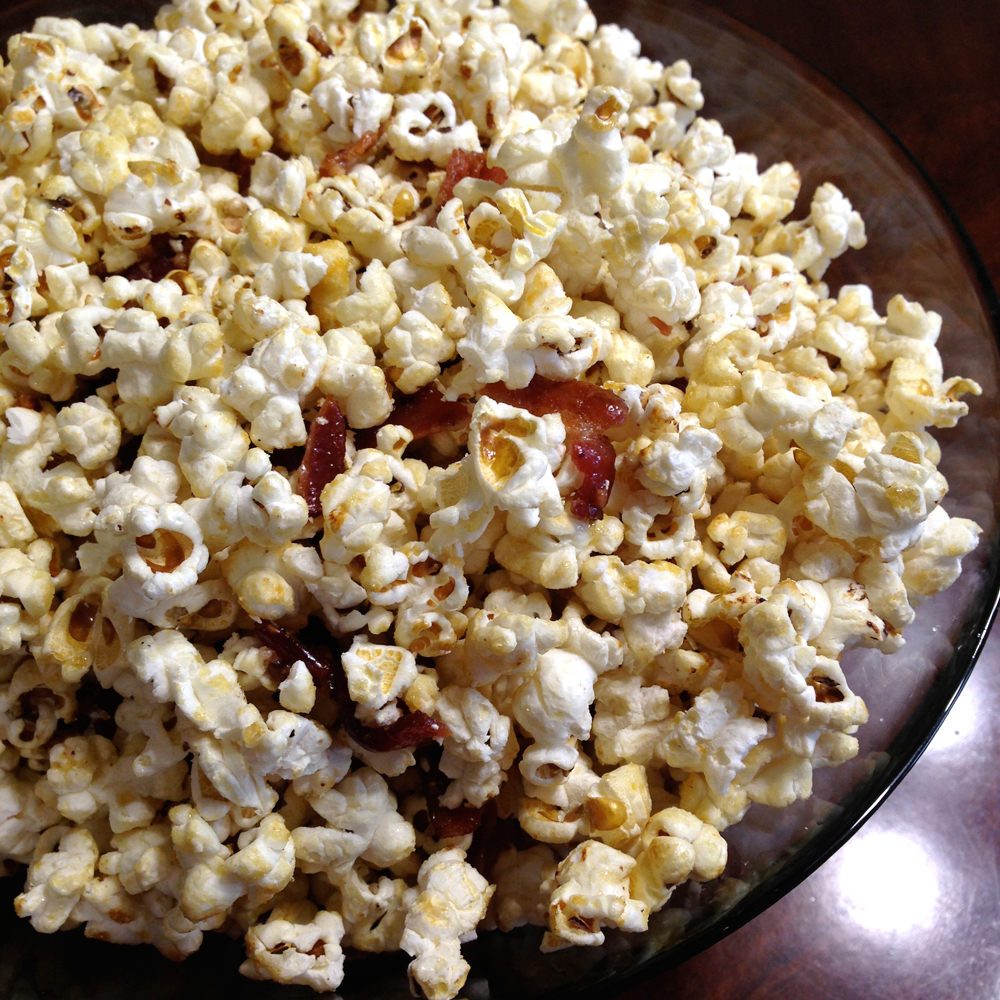 That Winsome Girl: Maple-Bacon Kettle Corn