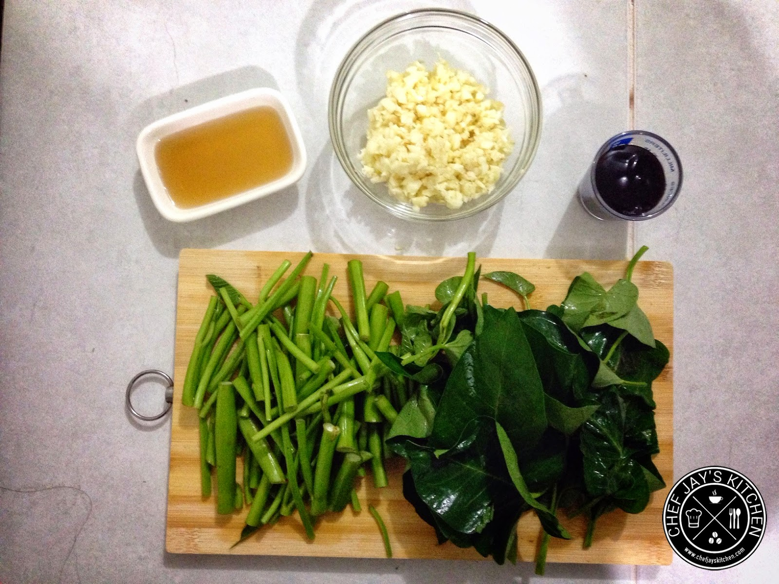 Water Spinach (Kangkong) ingredients