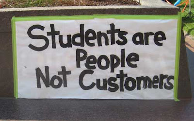 Students are people, not consumers