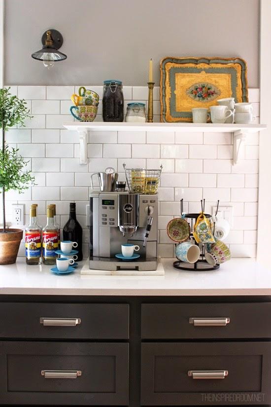 cantinho do café na cozinha