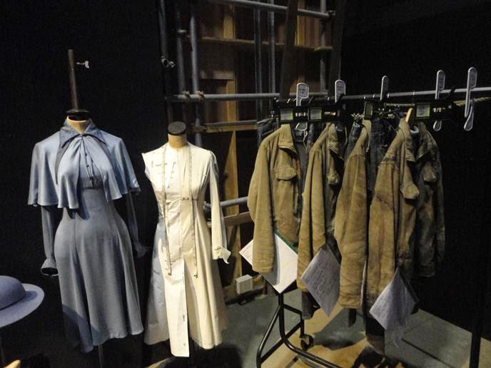 Figurinos - Visitando os Estúdios de Harry Potter em Londres