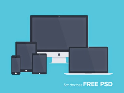PSD Flat Showcase Devices