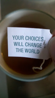 Your Choices Will Change The World