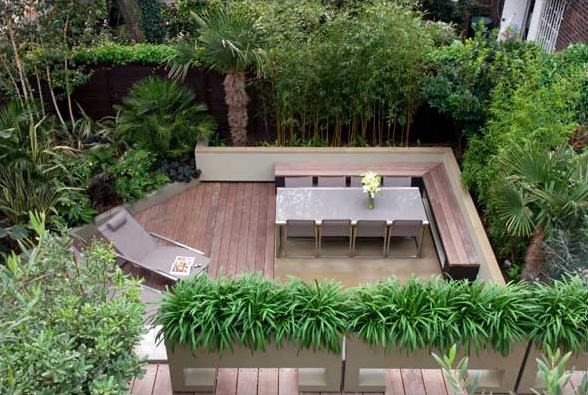 House Designs: Modern Concept Of Garden Design