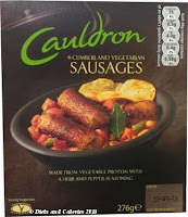 Cauldron vegetarian sausages